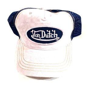Suede Von Dutch Hat